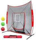 PowerNet DLX 2.0 Baseball Softball Hitting Net System w/ 3 P