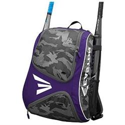 Easton E110BP Purple / Camo Bat Pack Backpack Equipment Bag