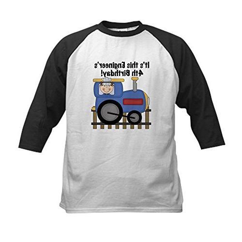 engineer birthday baseball jersey