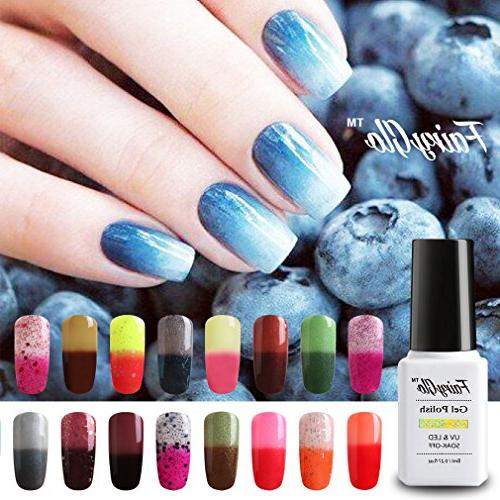 fairy glo gel nail polish