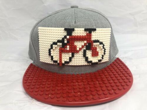 fashion baseball cap bicycle logo with l