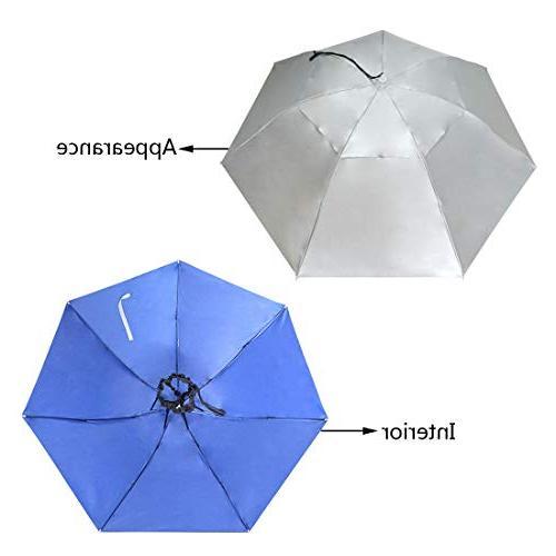 NEW-Vi Folding Sun Cap Adjustable Outdoor