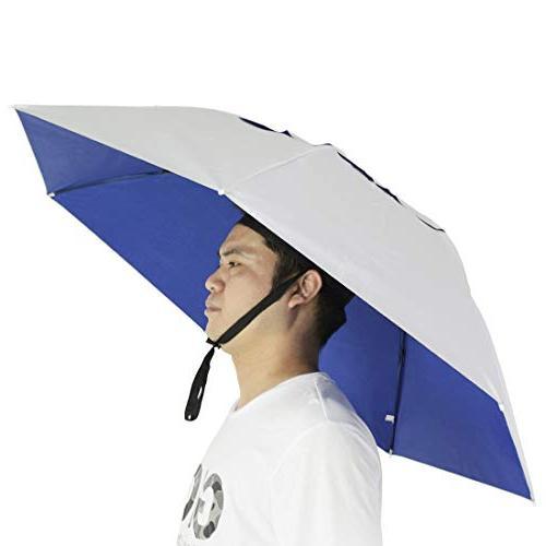 fishing umbrella hat folding sun
