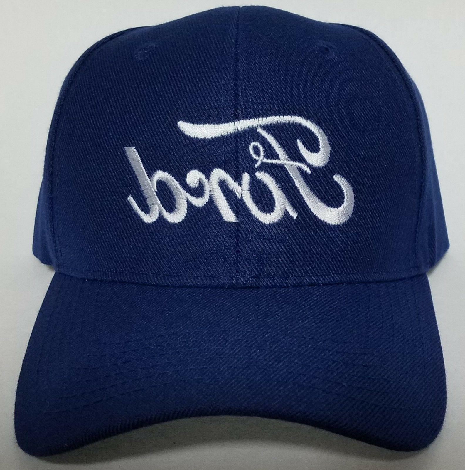 FORD Embroidered Baseball Hat Cap Adjustable