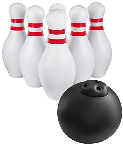 giant inflatable bowling set indoor