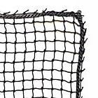 Golf Barrier Net,Knotted Nylon , #18 Pro High Impact, Black,