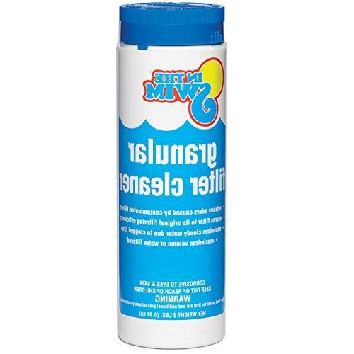 granular pool filter cleaner
