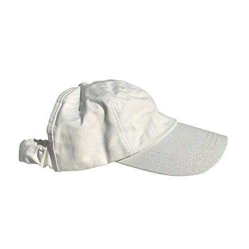hair backless cap satin lined