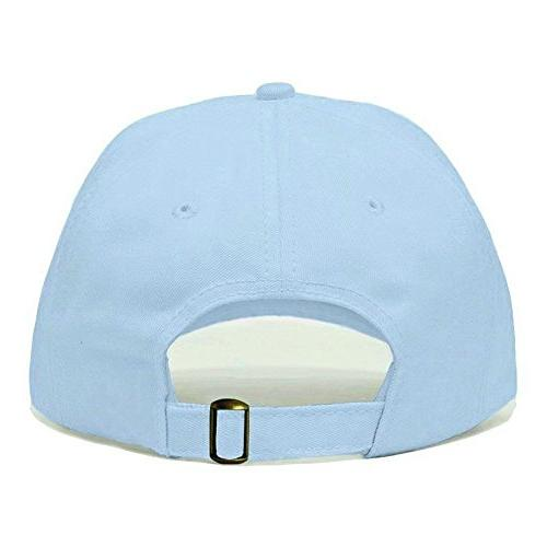 Hang Embroidered Baseball Cap, Cotton, Adjustable Strap Panel, Fits Most