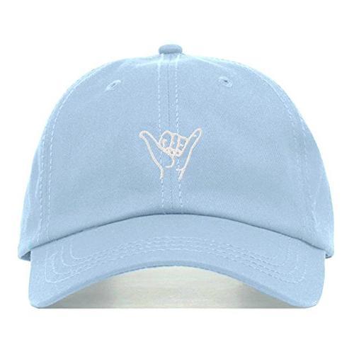 hang loose dad hat embroidered baseball cap