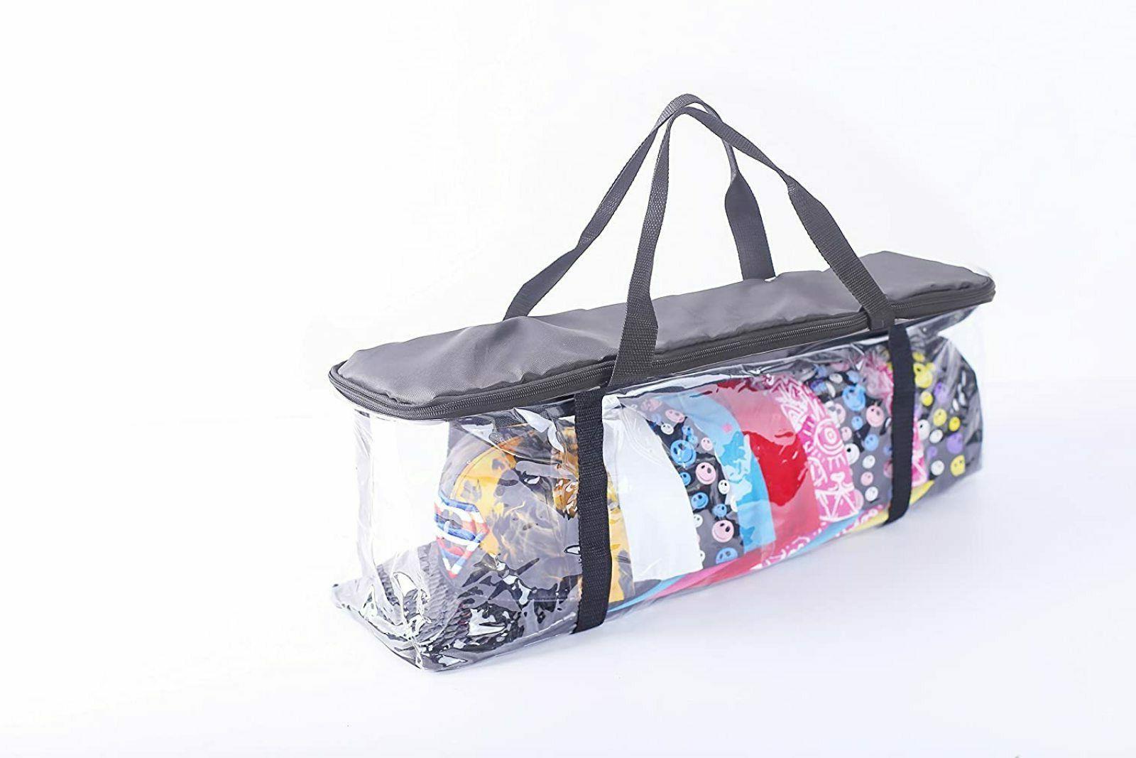 Hat Storage Bag Case Baseball Cap Organizer Clear Travel Dus