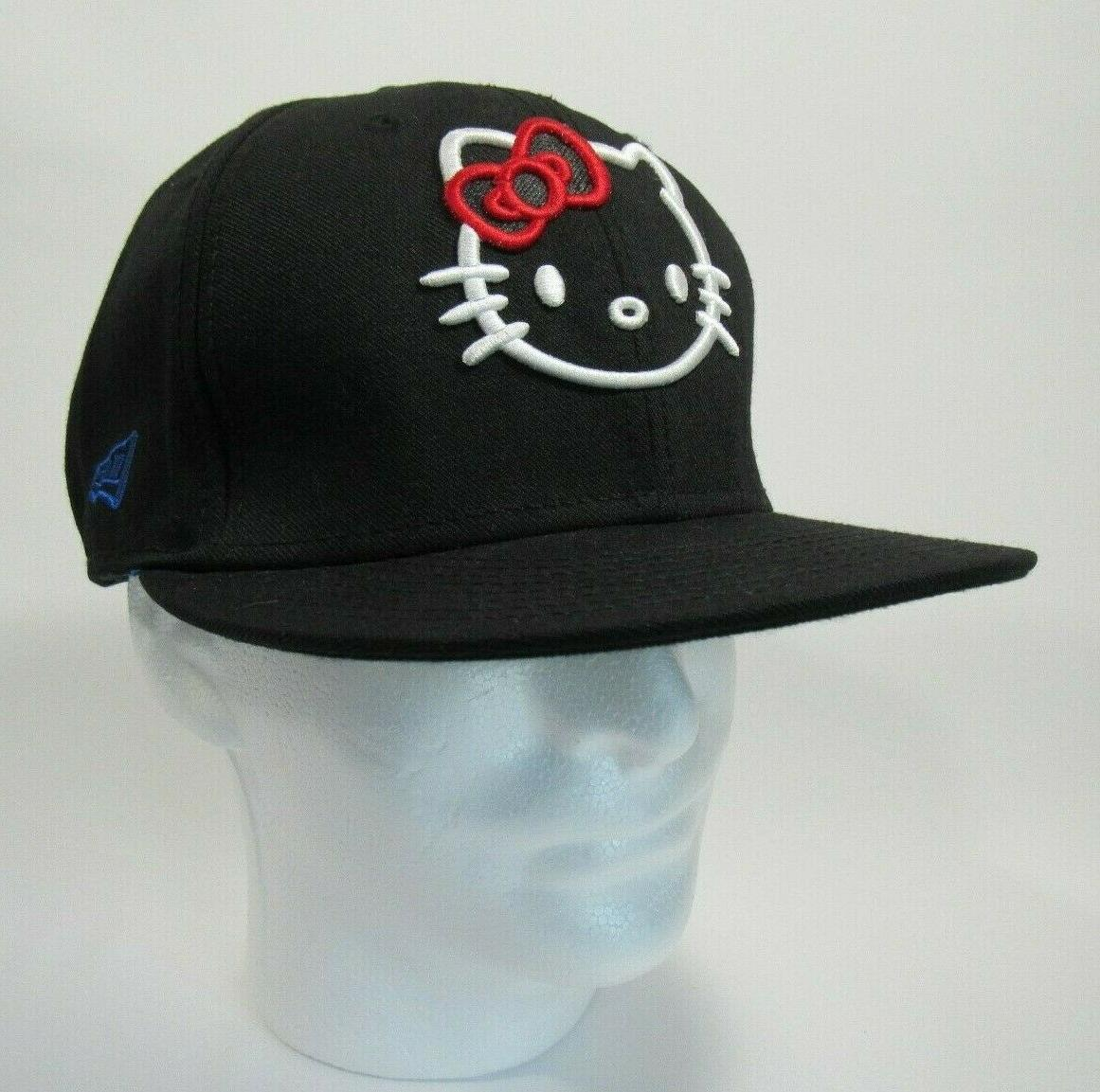Hello Kitty Fitted Baseball Cap 7 60.6cm New
