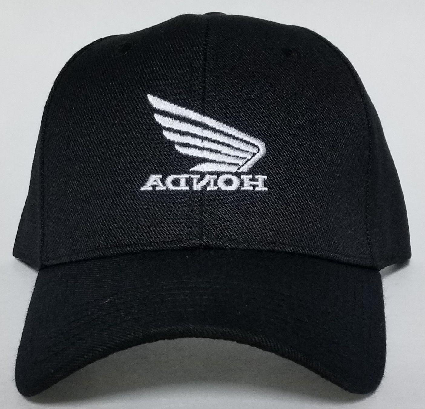 Honda Motorcycle Embroidered Hat Honda