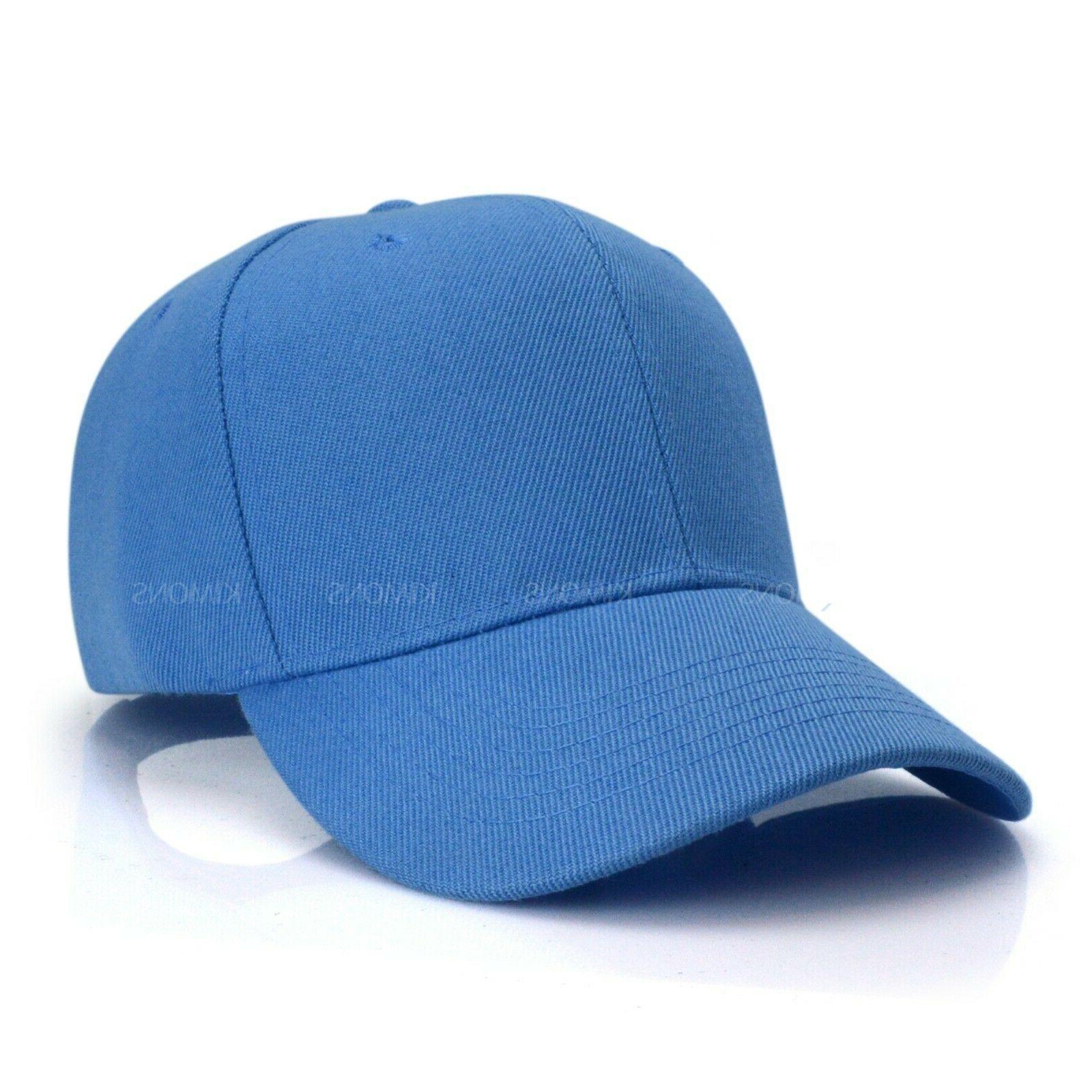 Plain Baseball Trucker Army Hat Men Women Adjustable