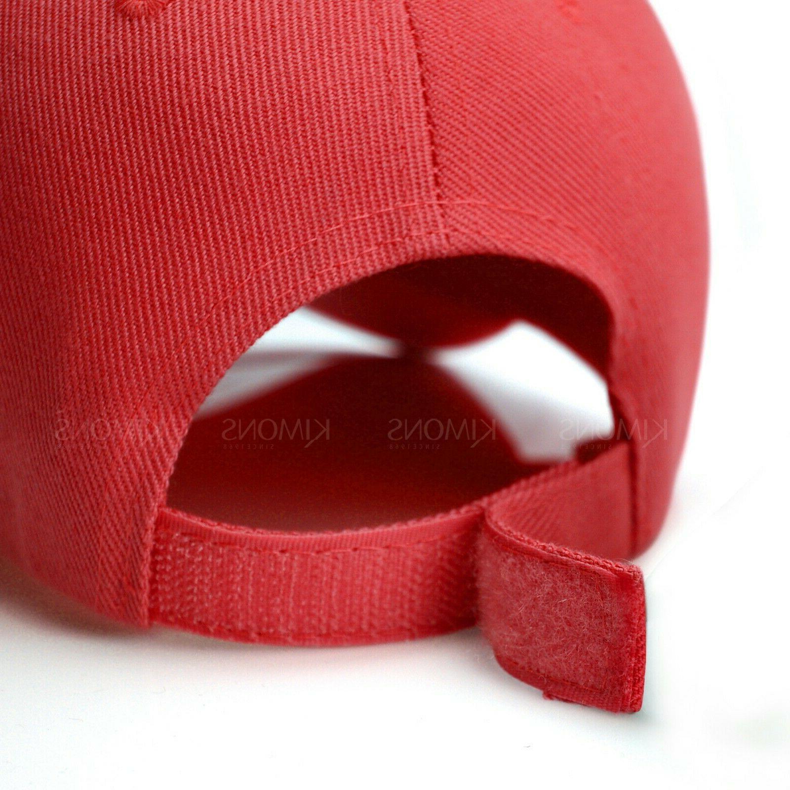 Plain Solid Trucker Hat Adjustable