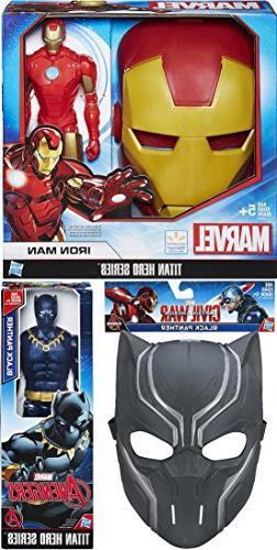Iron-Man Avengers Titan Series Mask & Marvel Figures Exclusi
