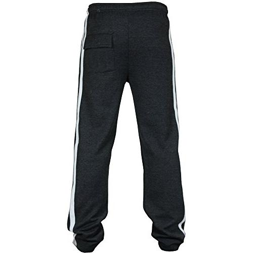 DEATU New Joggers Men's Classic Drawstring Pockets Sport Sweat