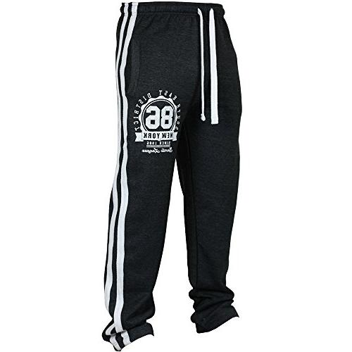 joggers pants classic drawstring zipper
