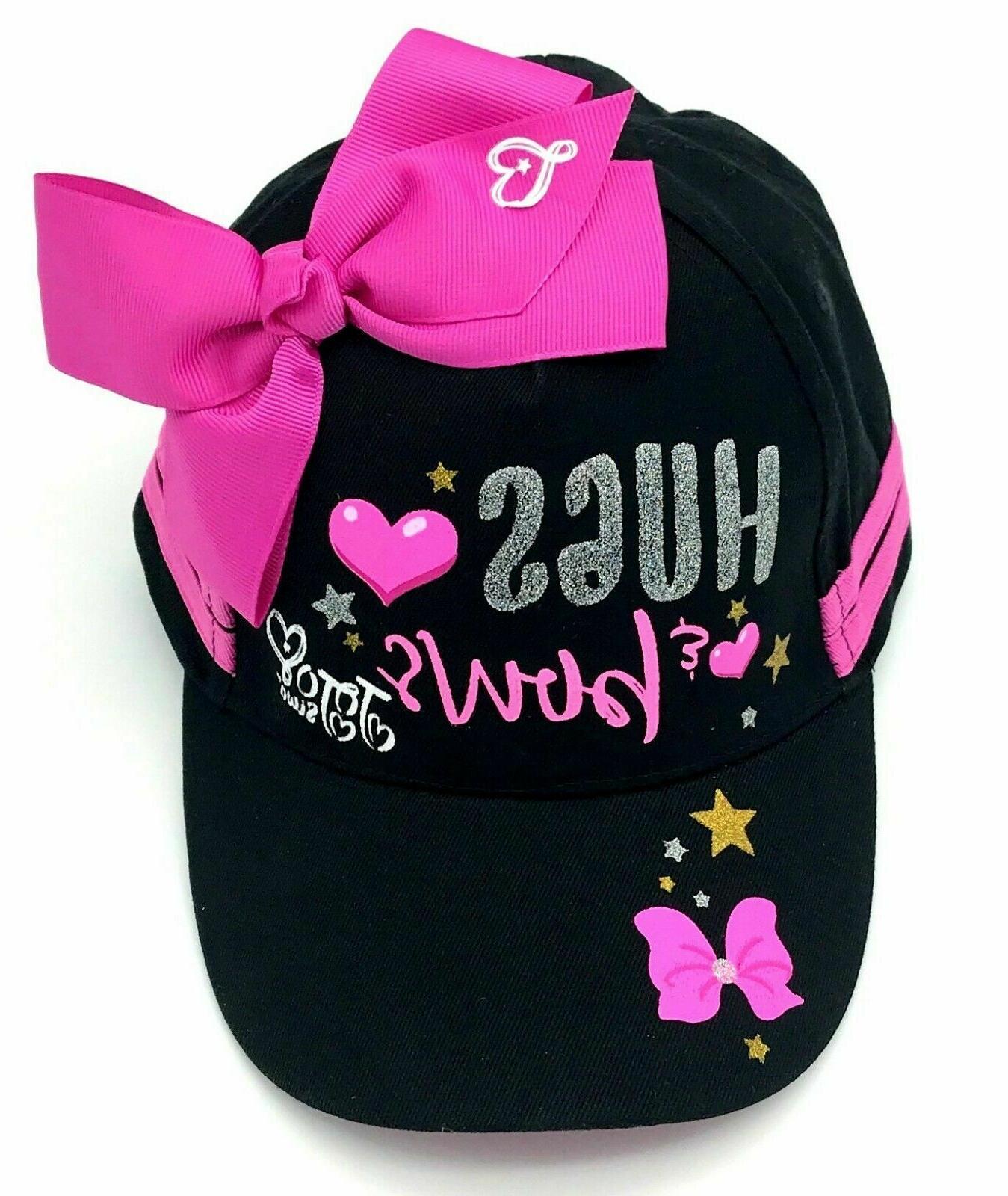 jojo siwa hat black girls baseball cap