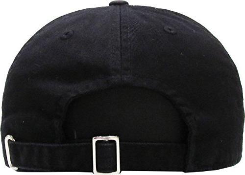 KBC-13LOW BLK Kids Girls Hats Profile and Plain Hat Unisex