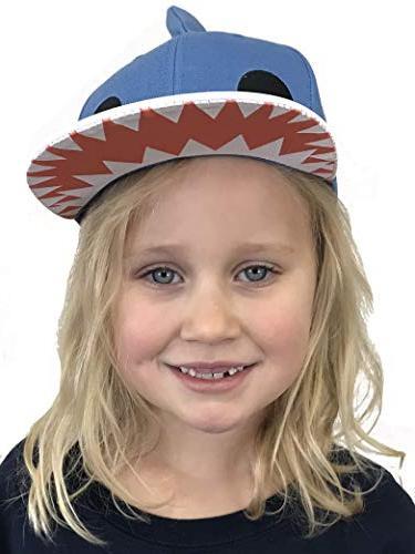 Kid's Sharky Hat Children's Fin Cap Child Fun Animal