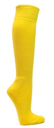 Knee High Sports Athletic Baseball Softball Socks, BRIGHT YE