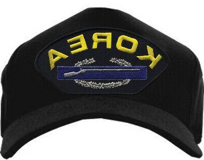 korea cib rifle hat combat infantryman badge