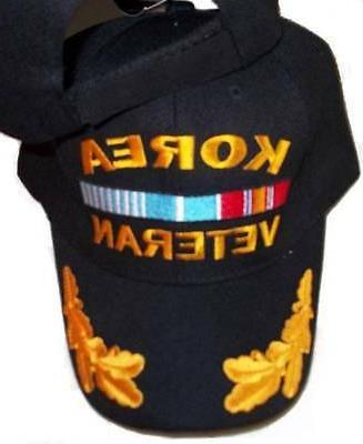 korea war veteran baseball style embroidered hat
