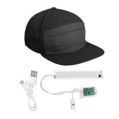 LED Baseball Cool Hat Screen bluetooth