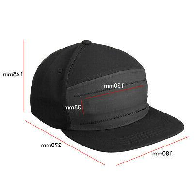 LED Display Baseball Cap Cool Hat Screen bluetooth Cool Travel