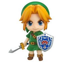 Legend of Zelda: Majora's Mask 3D Link Nendoroid Action Figu
