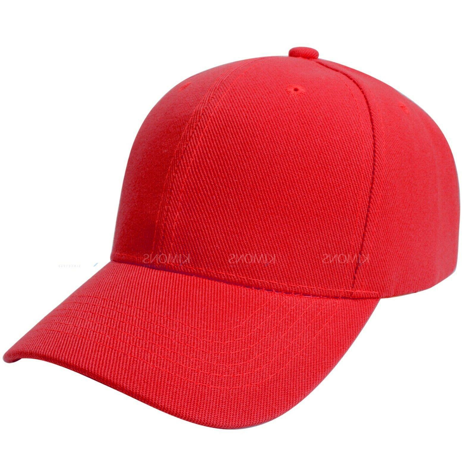 Plain Solid Cap Trucker Army Hat Adjustable