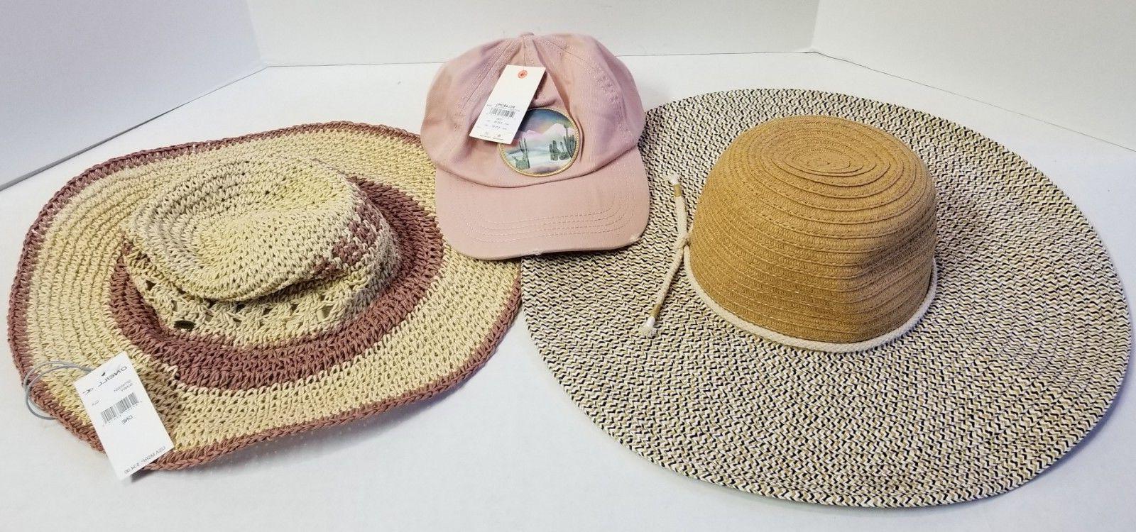 LOT WOMENS HATS BILLABONG O'NEILL ECHO BASEBALL CAP SUN HAT