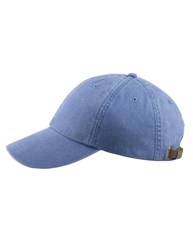ADAMS BASEBALL HAT, Pigment Dyed Cap, AD969, LP101