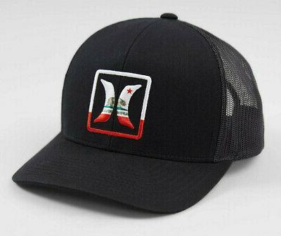 men s california cali bear trucker hat