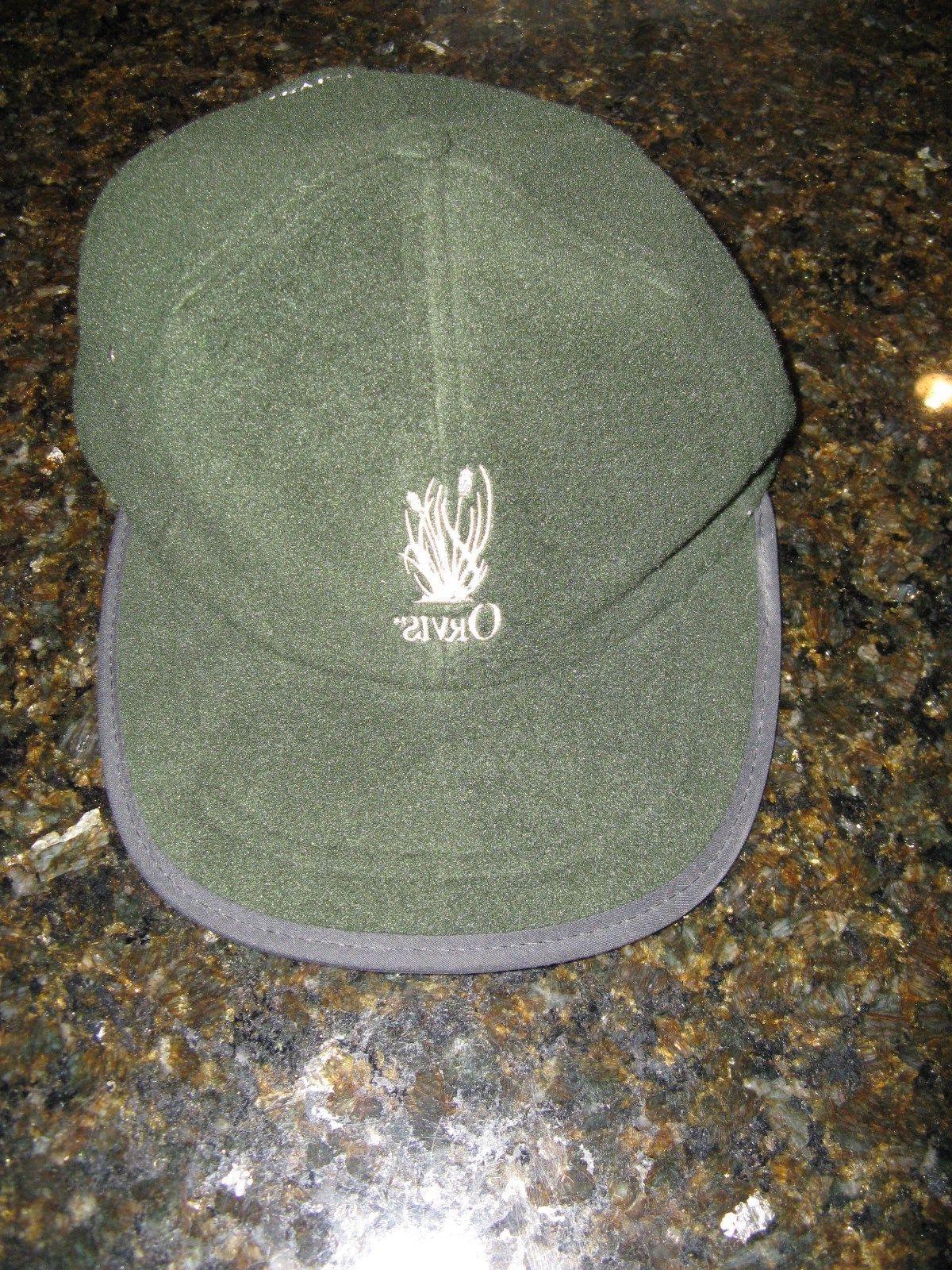 men s green fleece adjustable baseball cap