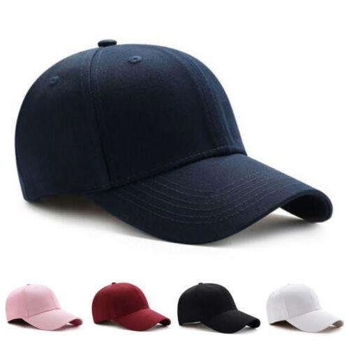 men women new black baseball cap snapback