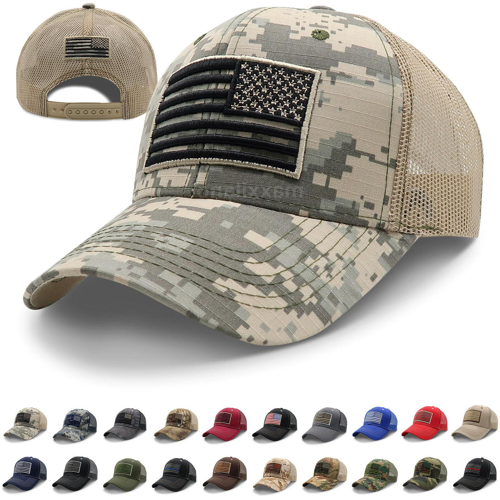 mens cotton baseball cap usa army american