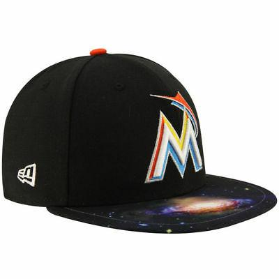 Miami Era 59FIFTY Galaxy Hat - Black