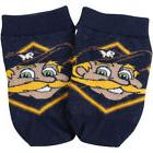Milwaukee Brewers Toddler Realistic Mascot Socks - Navy Blue