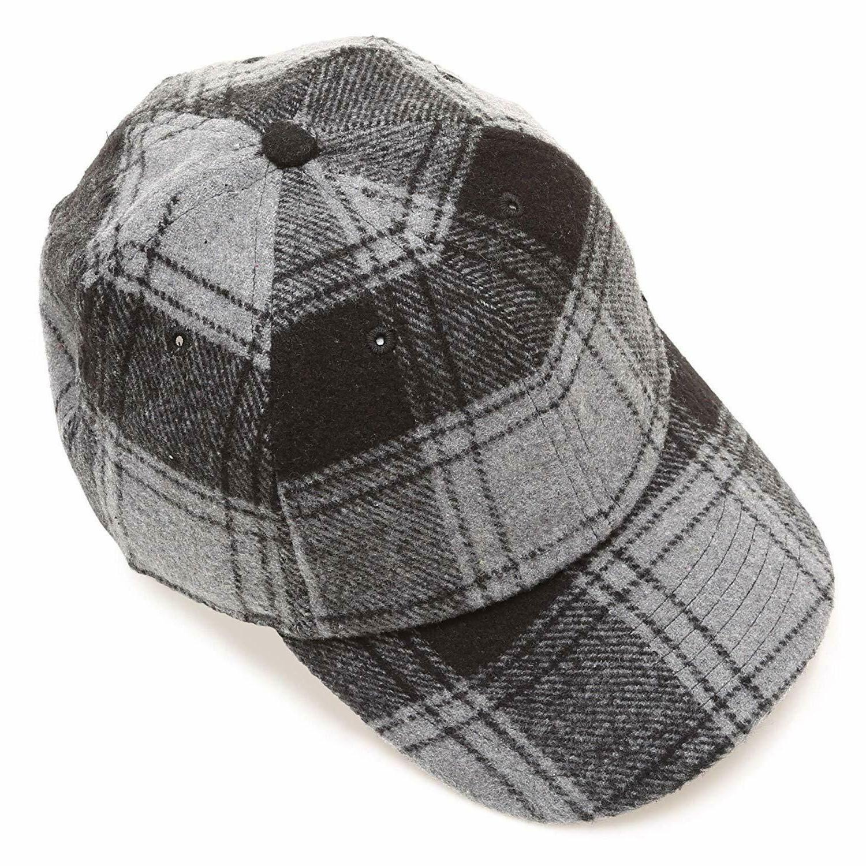 MIRMARU Men's Baseball Cap with Adjustable Size Strap