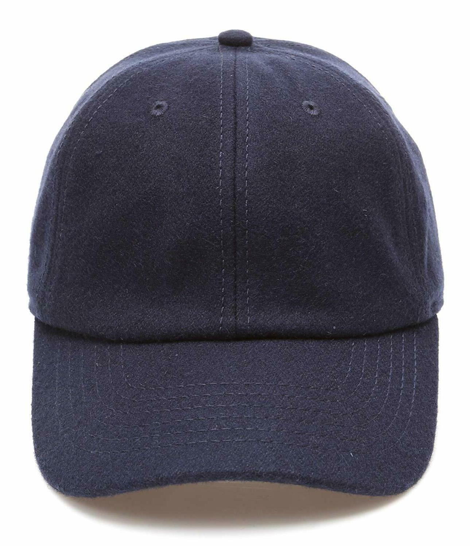 mirmaru men s wool blend baseball cap