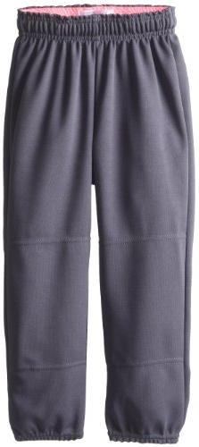 MJ Soffe Girl's Printed Waistband T-Ball Pant, Small, Gun Me