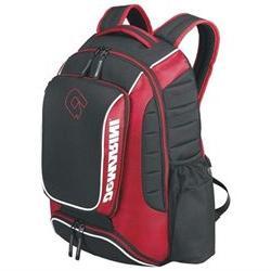 DeMarini Momentum Baseball Backpack-Black SKU: WTD9407BL