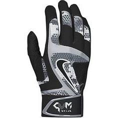 Nike MVP Elite Adult Baseball Batting Glove GB0401 White/Wol