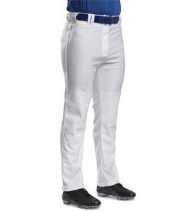 A4 N6162 Pro Style Open Bottom Baggy Cut Baseball Pant, Whit