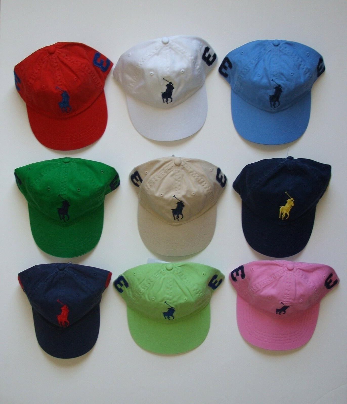 new baseball cap hat big pony adjustable
