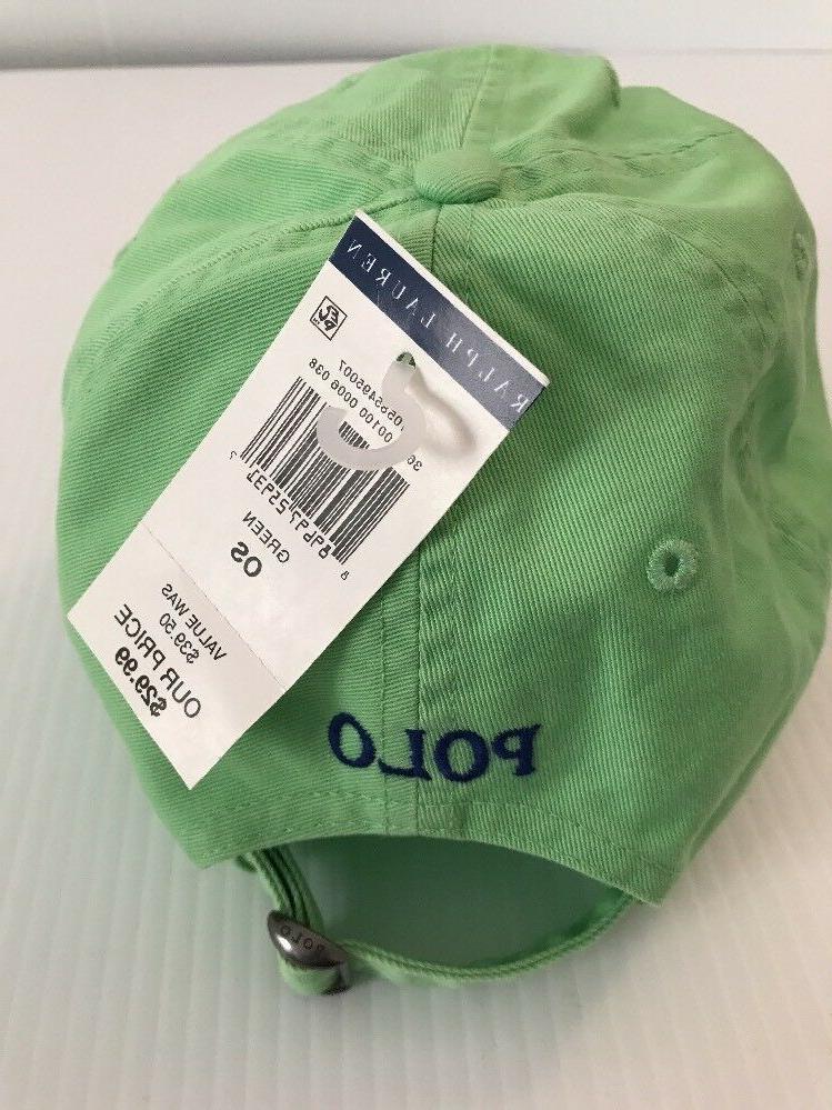 NEW Polo Ralph Baseball Hat Small