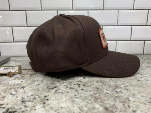 New! Filson Logger Baseball Hat. Made In USA. O/S. Leather