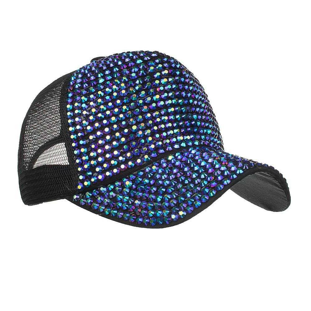 NEW Fashion Casual Rhinestone Hats Female Cap Hats